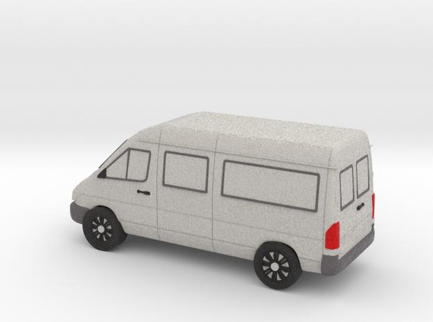 Sprinter Van Tiny, Color 3d printed