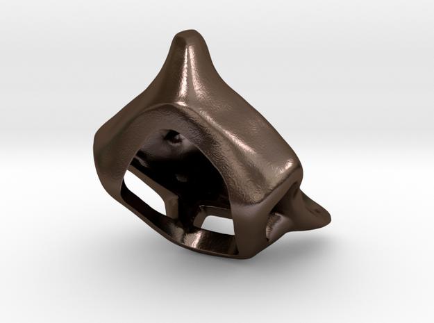Foxhead Medallion 3d printed