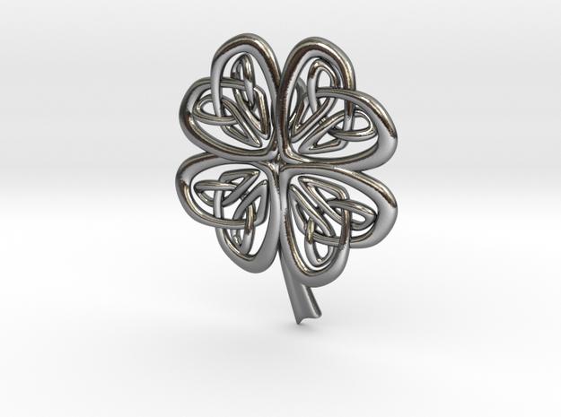 Celtic Shamrock 3d printed