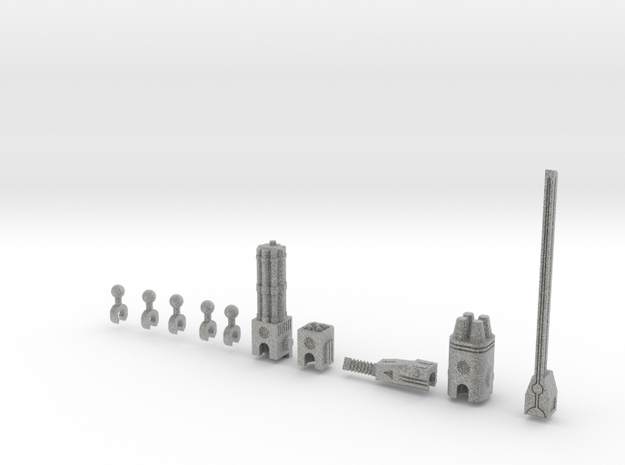 Sunlink - 3mm Weapons Pack #1 3d printed