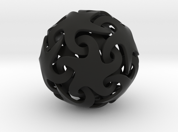 Smooth linking stars 3d printed
