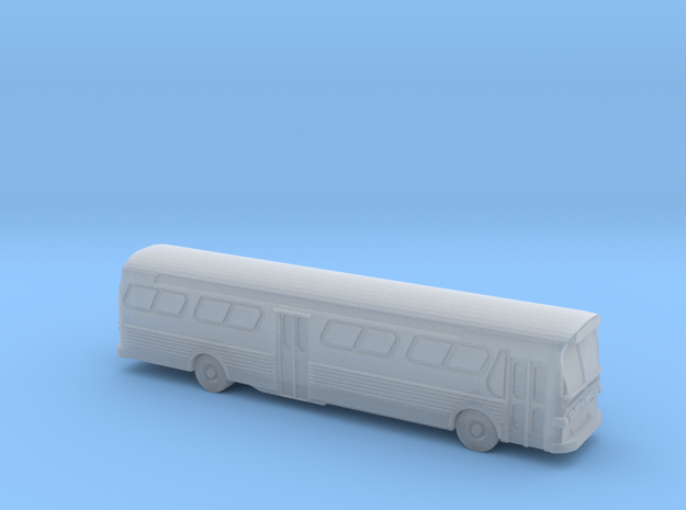GM FishBowl Bus Ultra - Z Scale  in Frosted Ultra Detail