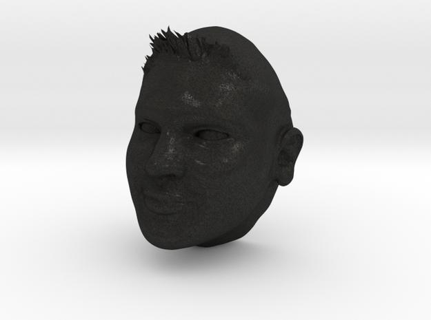 Dianas Groom Head 3d printed