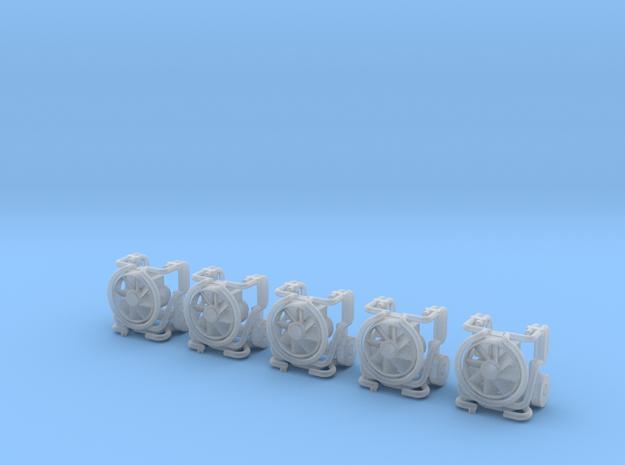 Leader-Lüfter MT 236 Eingeklappt 5x  in Smooth Fine Detail Plastic
