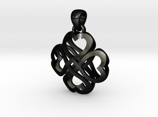 Cross Hearts 3d printed