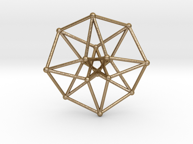 Toroidal Hypercube 100mm 3mm Time Traveller 3d printed