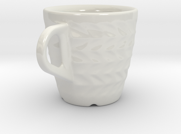 one cup a day | Day 12: ZigZag Cup 3d printed