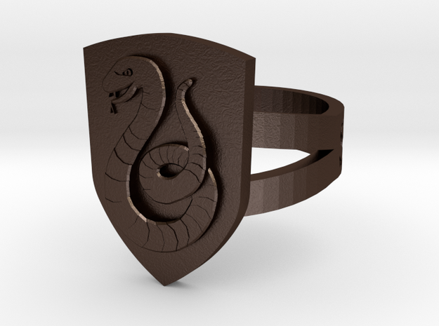 Slytherin Ring Size 6 3d printed