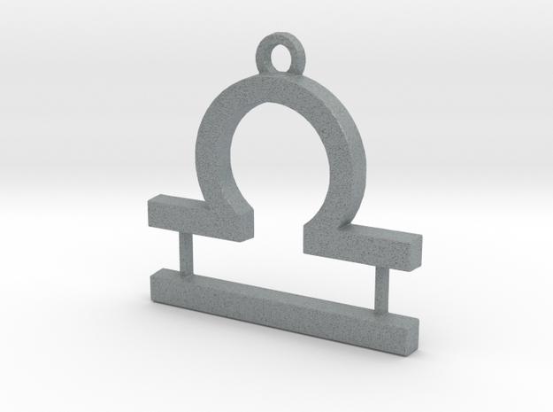 Zodiac Sign Libra Symbol Pendant (ver.1) 3d printed