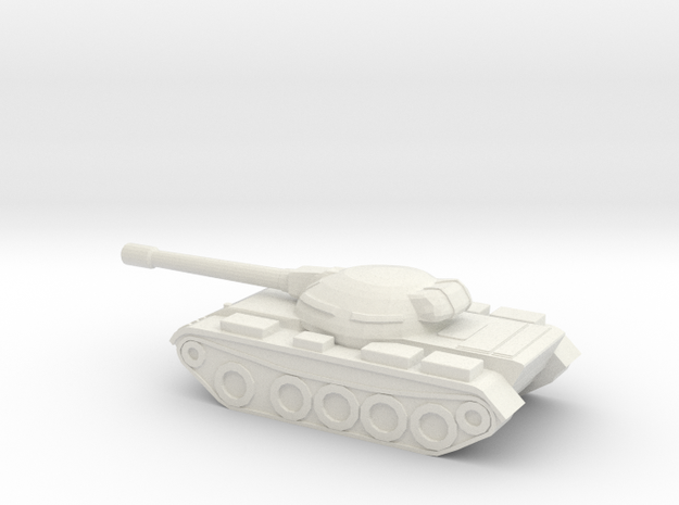 1:285 T55 in White Natural Versatile Plastic