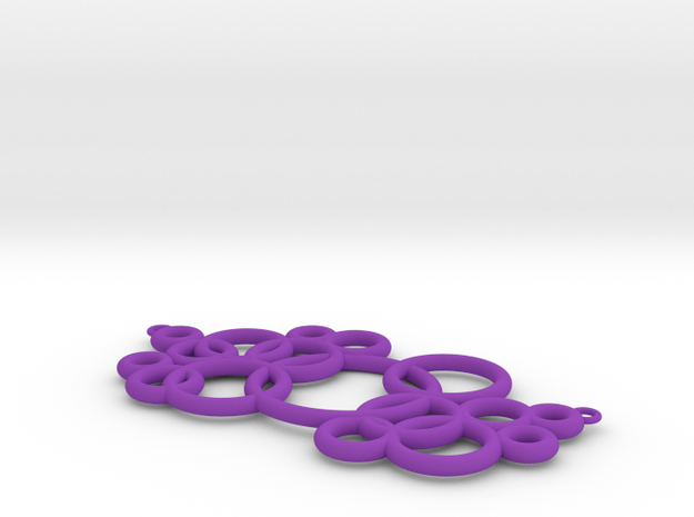 Michelin-like necklace 3d printed