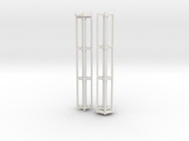 Mähdrescherhaspel für Lexion V1050 Schneidwerk 1/8 in White Natural Versatile Plastic
