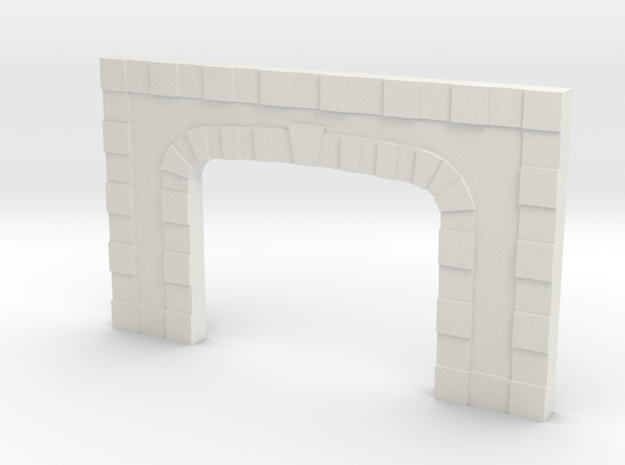 Z TUNNEL PORTAL in White Natural Versatile Plastic