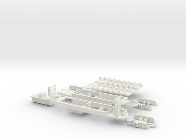 Rom Stanga chassis in White Natural Versatile Plastic