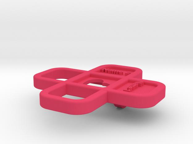 Heart Name Pendant 3d printed