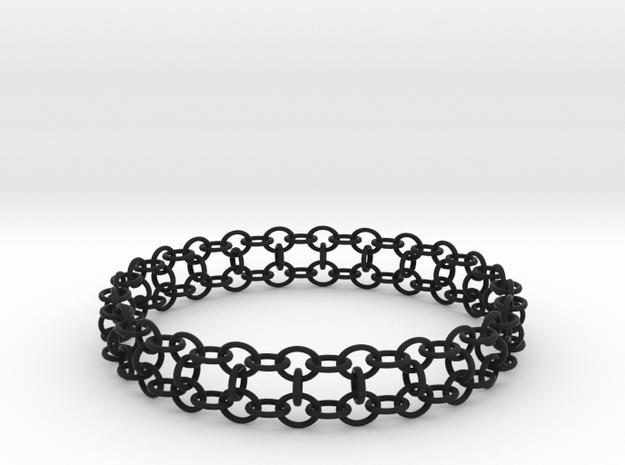 3in Yojimbo Bracelet in Black Strong & Flexible