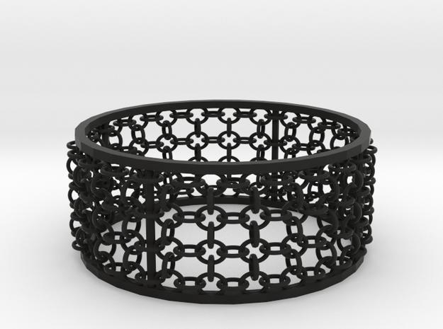 3in Emperor Bracelet 3d printed