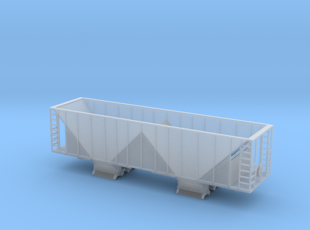 Ballast Hopper Car - N scale