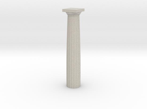 Parthenon Column Whole 1:100 3d printed