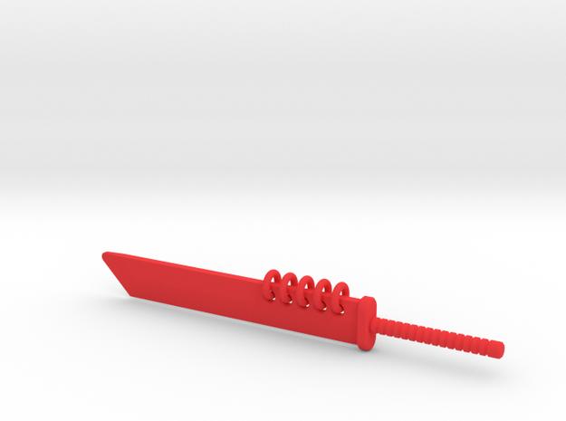 MegaCleaver Sword 3d printed