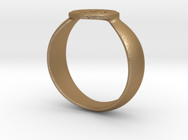 Bitcoin Ring 2nd Edition 3d printed