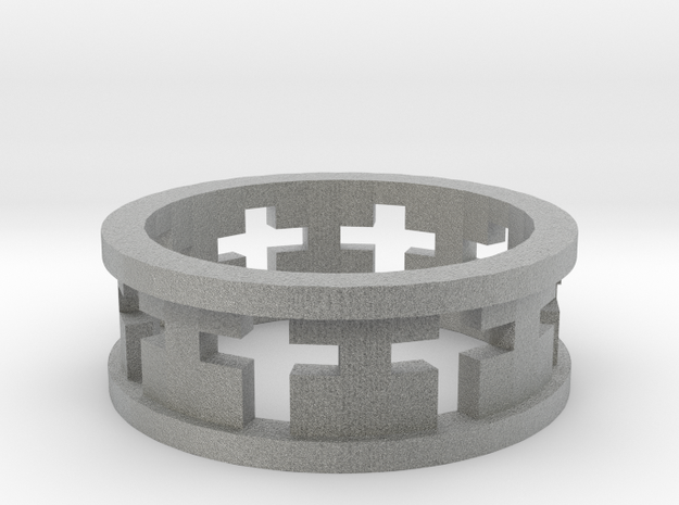 Cross Ring 3d printed