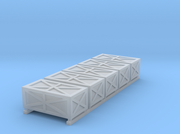 Freight Boxes 5 3d printed
