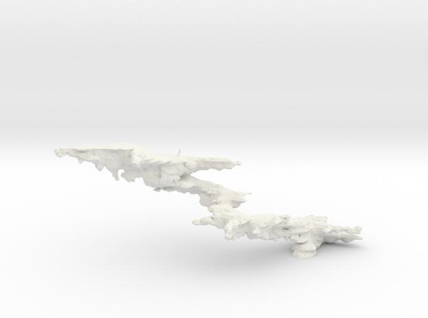 Melanophore iso threshold 7 in White Natural Versatile Plastic