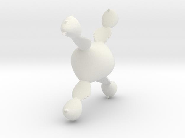 Juliabulb-cdivsin in White Natural Versatile Plastic