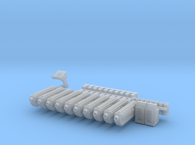 28mm X-1 Compact Assault Rifle (10 Pack) in Smooth Fine Detail Plastic