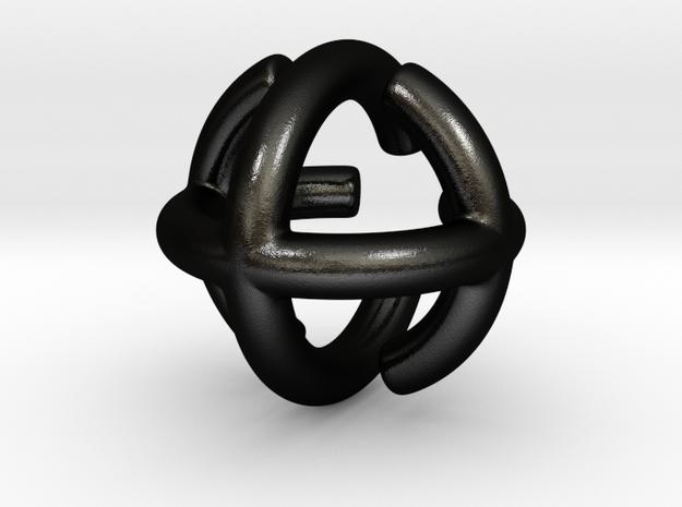 Triple Torus 3d printed