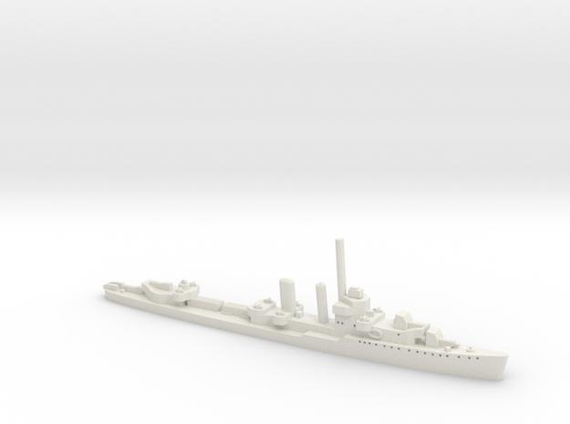 USS Monaghan (Farragut class) 1:1800 3d printed