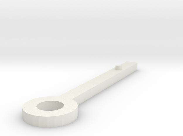 Clock hand sketchup selected 3d printed