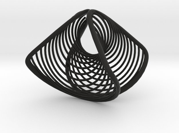 Wearables | ring | concave convex | size K 3d printed