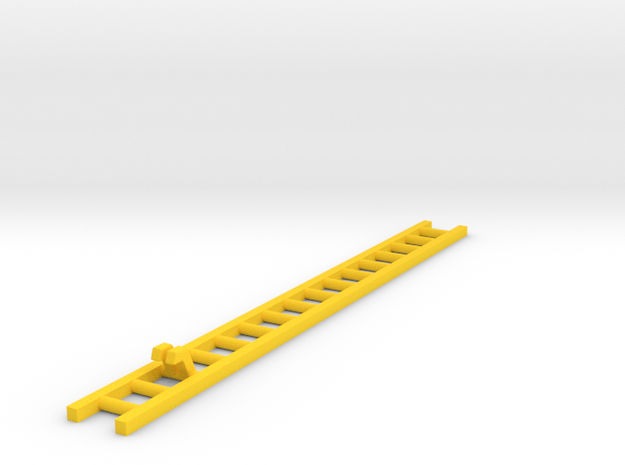 Corgi TT Series - Ladder 14.55cm in Yellow Processed Versatile Plastic