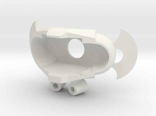Axe Kn1 in White Natural Versatile Plastic