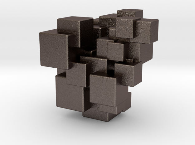 Clusters 01 3d printed
