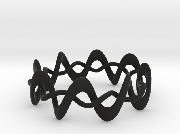 DMT Wrap Ring 3d printed