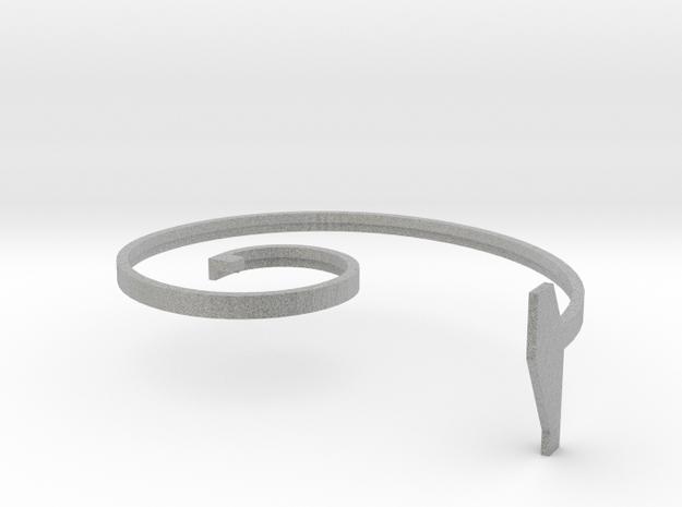 spiral press_2 in Metallic Plastic