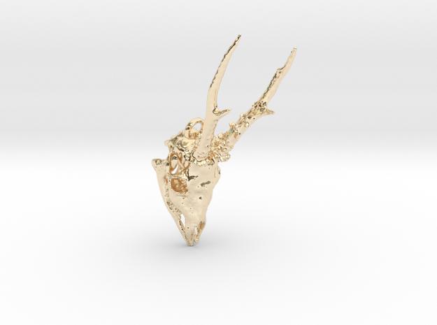 European Roe Deer Pendant  3d printed
