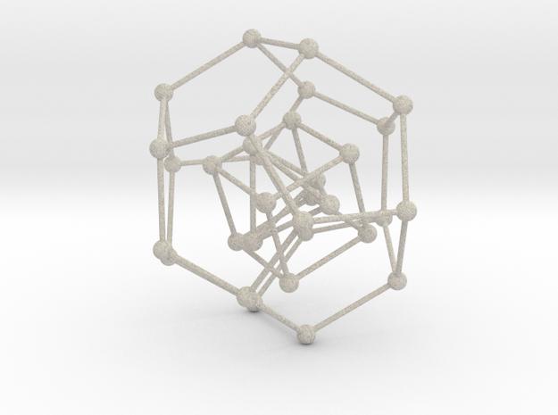 Pyramid Cube Dodecahedron 3d printed