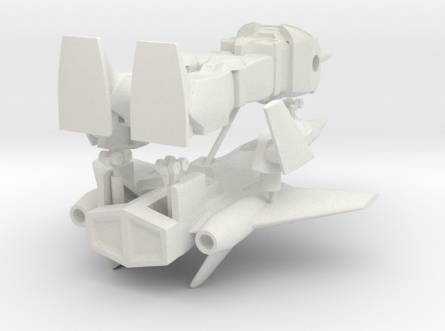 Cyclonus in White Natural Versatile Plastic