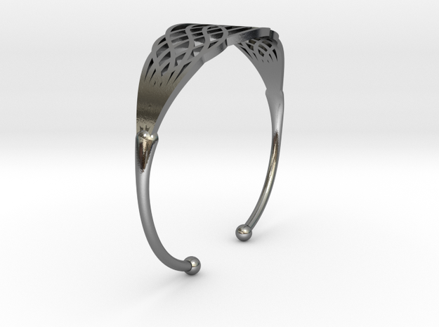 Bracelet d'eau in Polished Silver