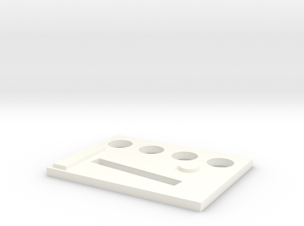 broche2 in White Processed Versatile Plastic