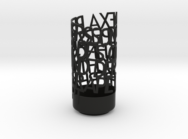 Light Poem Alexa 3d printed