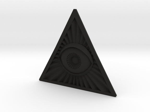 Illuminati -Flat Peice v2e 3d printed