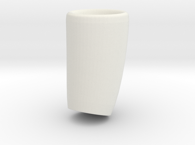 flowervase / dubble-sided useable in White Natural Versatile Plastic