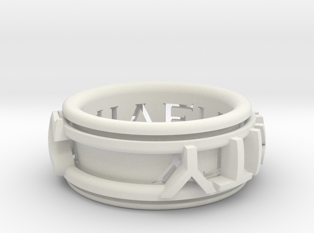 Singularity ring 3d printed