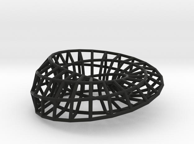 Moebius Ellipse | Napkin Ring 3d printed