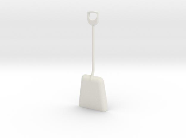 1/8 size coal shovel 3d printed